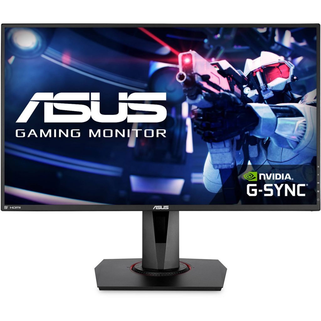 Asus VG278QR monitor - 5 Best gaming monitors under $300