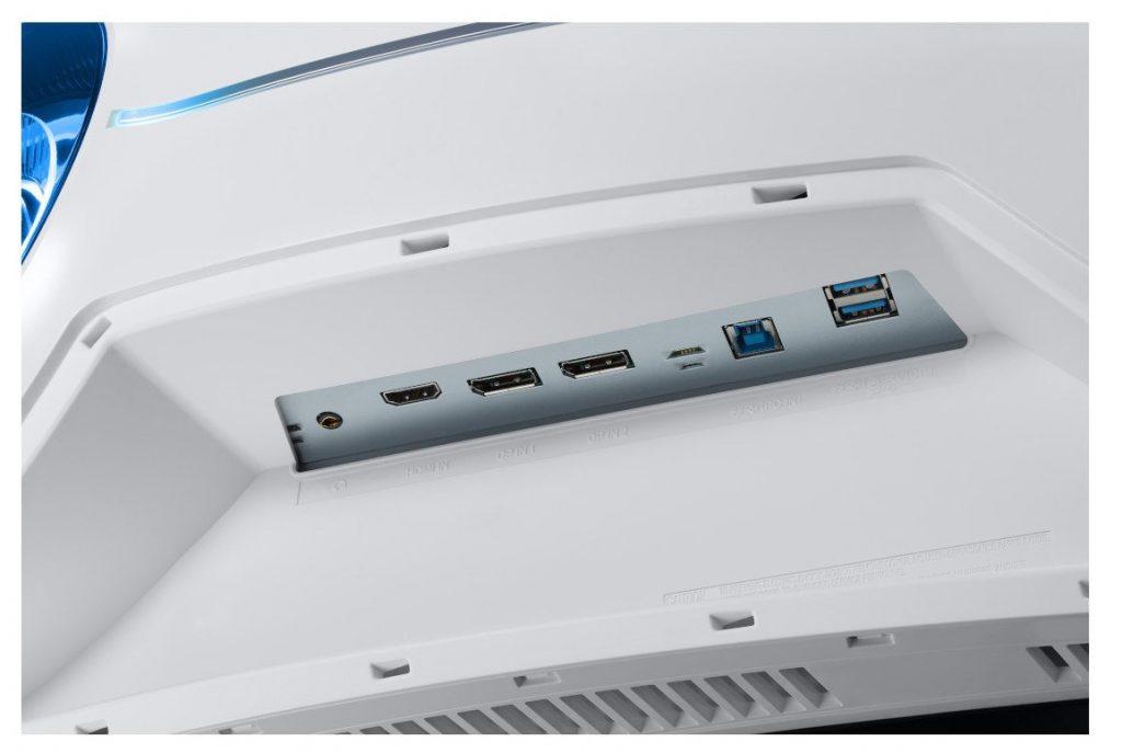 samsung odysssey g9 ports