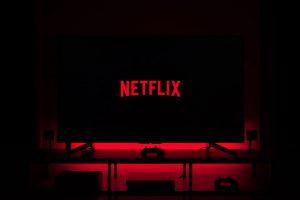 Netflix on monitor